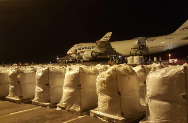 ニュース画像 1枚目:747-400Fで輸送