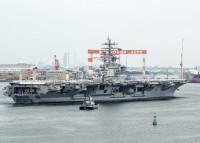 ニュース画像 3枚目:横須賀基地から担当海域へ向かう