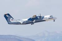 ニュース画像 1枚目:オーロラ航空 DHC-8、画像はDHC-8-300