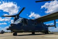 ニュース画像:CV-22オスプレイ、横田へ飛来 配備ではなく移動の一時立ち寄り