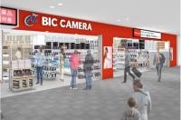 ニュース画像:セントレア、6月1日に「Air BIC CAMERA」がグランドオープン