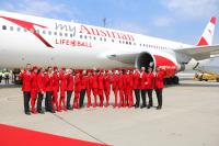 ニュース画像:オーストリア航空、チャリティ「ライフバル舞踏会」で著名人を輸送