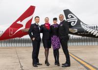 ニュース画像:カンタスとニュージーランド航空、計115路線でコードシェア提携へ