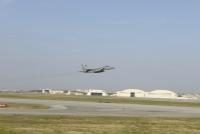 ニュース画像:嘉手納基地のF-15C、早朝の那覇市南の海域で墜落 パイロットは救助
