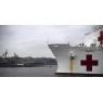 ニュース画像 2枚目:病院船「マーシー」、おおすみと日本到着前に交流