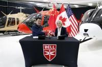 ニュース画像:ベル・ヘリコプター、中国初のベル505ジェットレンジャーXを納入