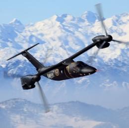 ニュース画像 1枚目:AW609 ティルトローター機