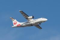 ニュース画像:但馬空港ターミナル購入のJAC向けATR42-600、7月4日に鹿児島着