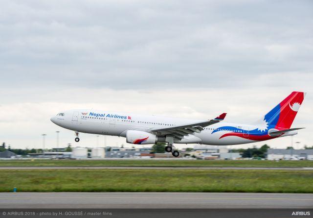 ニュース画像 1枚目:ネパール航空のA330-200