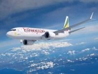 ニュース画像:ボーイング、エチオピア航空に初の737-8-MAXを納入