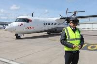 ニュース画像:ATR、霧でも運航できるパイロット向け状況認識支援システムで最終試験