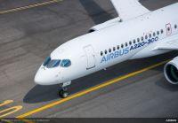 ニュース画像:エアバス、アメリカで設立予定の会社とA220-300を60機契約
