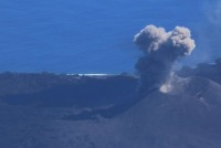 ニュース画像:海上保安庁、7月13日にMA722で西之島観測 噴火活動の継続を確認
