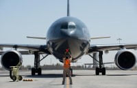ニュース画像:カナダ空軍の空中給油機、CC-150Tポラリス