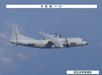 ニュース画像:中国Y-9情報収集機、7月27日に東シナ海と日本海を往来 空自が対応