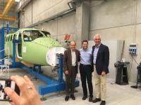 ニュース画像:テクナム、ケープ・エア向け「トラベラー」の初号機 製造を開始