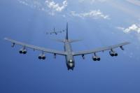 ニュース画像:アメリカ空軍と海軍、東シナ海で共同訓練 B-52とP-8Aが参加