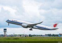 ニュース画像:エアバス、中国国際航空に1機目のA350-900を納入