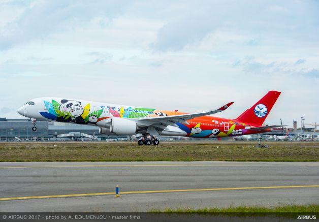 ニュース画像 1枚目:四川航空のA350-900