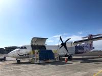 ニュース画像:ハワイアン航空、州内でATR-72貨物専用機の運航を開始