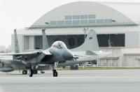 ニュース画像 1枚目:嘉手納基地のF-15イーグル