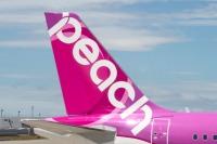 ニュース画像:ピーチ、関空再開第1便を運航