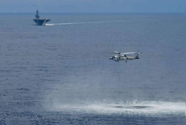 ニュース画像 1枚目:対潜戦訓練