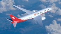 ニュース画像:ボーイング、上海航空の100機目にあたる787-9をデリバリー