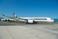 ニュース画像:シンガポール航空、A350-900ULR受領 10月に世界最長路線に就航