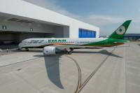 ニュース画像:エバー航空、初の787を受領