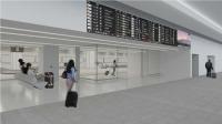 ニュース画像 1枚目:第1旅客ターミナル 到着ロビー イメージ