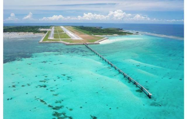 ニュース画像 1枚目:下地島空港 鳥瞰写真