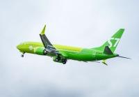 ニュース画像:ボーイング、S7航空に初の737-8-MAXを納入 モスクワ線に投入