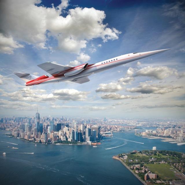 ニュース画像 1枚目:AS2超音速ビジネスジェット イメージ