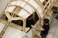 ニュース画像 3枚目:フルスケールのモデル製造