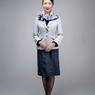ニュース画像 2枚目:女性客室乗務員のジャケットスタイル、ベースカラーは「洗練のシルバーグレー」と「信頼のダークネイビー」を採用