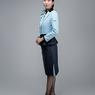 ニュース画像 8枚目:「親しみのAIRDOブルー」と「信頼のダークネイビー」を採用した空港旅客スタッフのジャケットスタイル