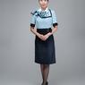 ニュース画像 10枚目:空港旅客スタッフのワンピーススタイル