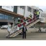 ニュース画像 2枚目:成田空港でトキ輸送箱の取り下し風景