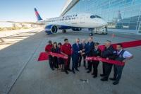 ニュース画像:デルタ航空、アメリカの航空会社で初めてA220を受領 1月に就航
