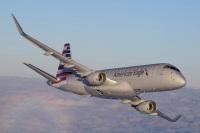 ニュース画像 1枚目:アメリカン航空塗装のERJ-175