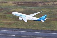 ニュース画像:A330-800初号機が初飛行