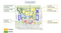 ニュース画像 1枚目:新ターミナルの店舗名称と構内図