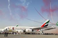 ニュース画像:エミレーツ航空、バーレーン・エアショーで100機目のA380を展示