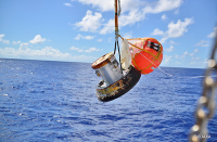 ニュース画像:朝日航洋、こうのとり7号機小型回収カプセルの捜索・輸送に貢献