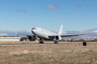 ニュース画像:エアバス、韓国空軍A330 MRTT初号機をフェリー 釜山で地上試験