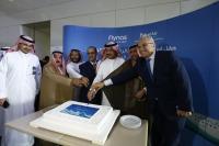 ニュース画像 3枚目:A320受領のケーキカット