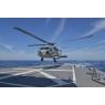 ニュース画像 5枚目:ロナルド・レーガン艦載機MH-60Rが「ふゆづき」に着艦