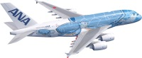 ニュース画像:ANAのA380「FLYING HONU」、5月24日に就航へ