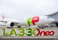 ニュース画像:世界初のA330neo、TAPポルトガル航空に納入